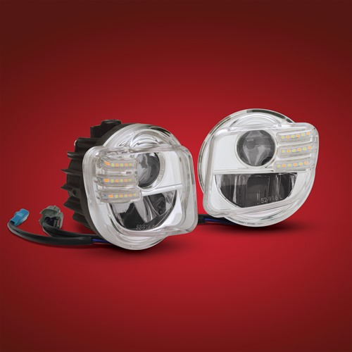 Wolfs-Goldwing-Shop - 52-916, LED Nebelscheinwerfer mit LED ...