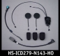Mobile Preview: HS-ICD279-N143-HO, Headset für Nolan® N103/N90/N43