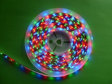 RGB multicolor,- Gold- Rolle 500 cm. 5060,Wasserfest IP 65